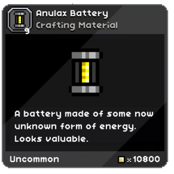 Anulax Battery