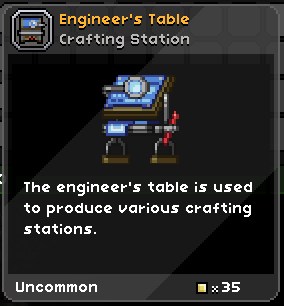 Engineer's Table