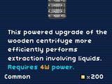 Iron Centrifuge