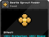 Beetle Sprout Flower