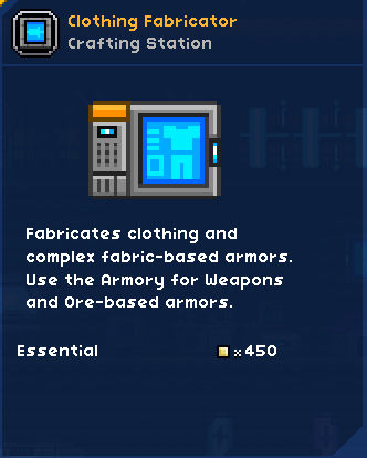 Clothing Fabricator