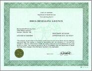 Ontario license