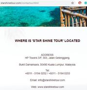 Starshinetour