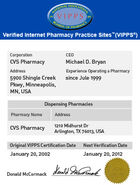 CVS aw vipps page