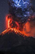 Вулканические молнии 3