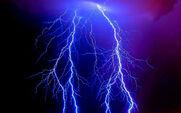 Фиолетовая молния