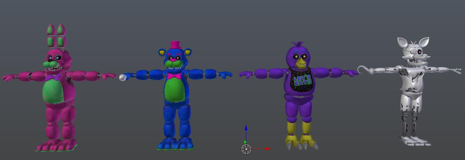 Scrapped Animatronics