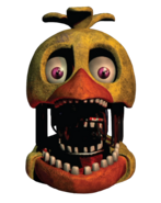 Withered Chica from freddy files