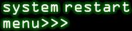 FNaF3 - Panel de Mantenimiento (System Restart Menu)