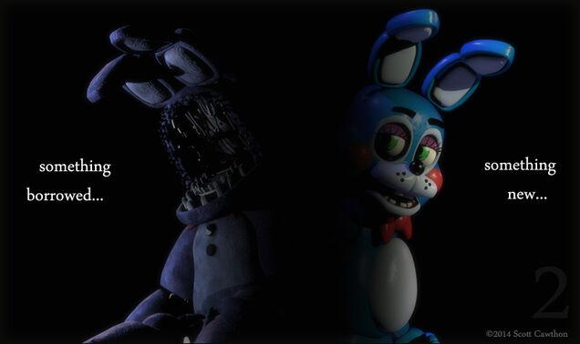 Drugi teaser z Bonnie'm i Toy Bonnie'm