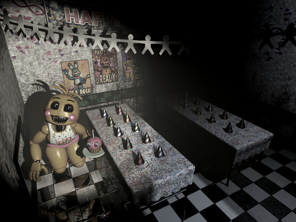 FNaF2 - Party Room 1 (Toy Chica).png