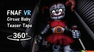 360° FNAF Help Wanted Circus Baby Teaser Tape SFM (VR Compatible)