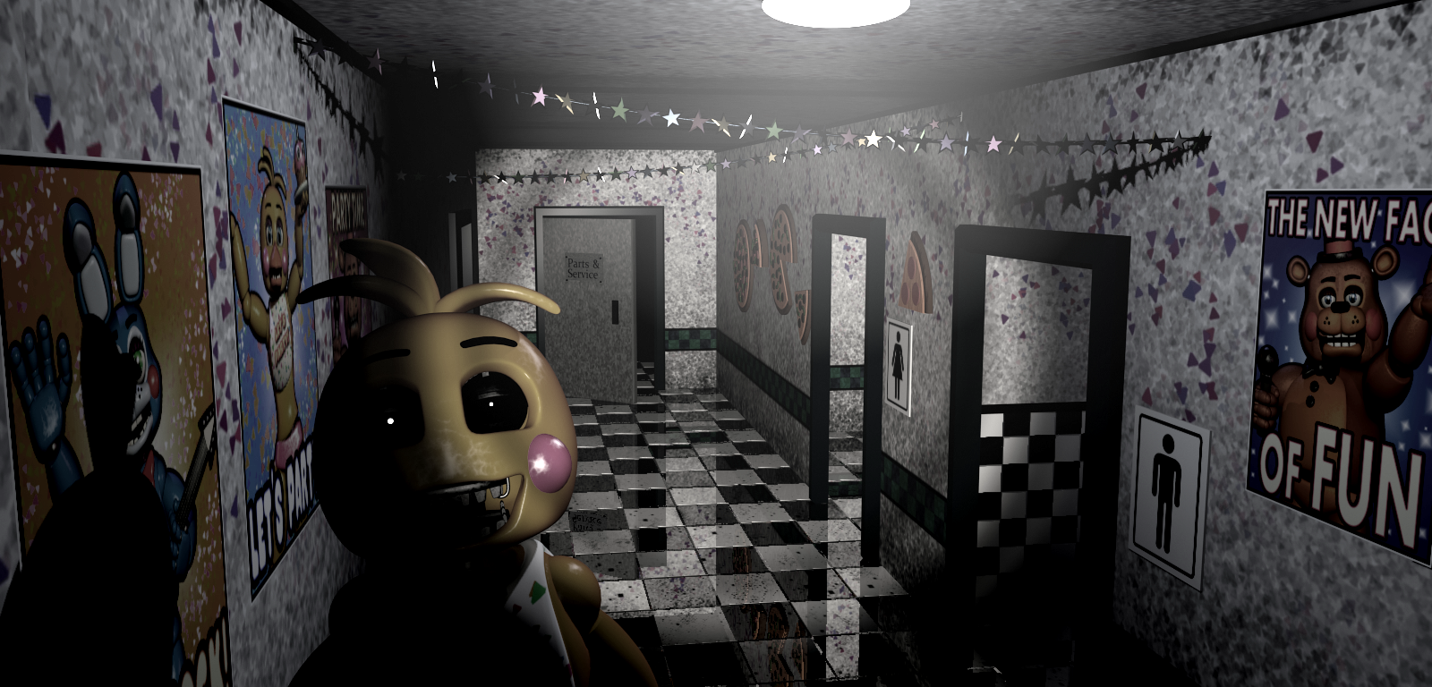 FNaF2 - Main Hall (Toy Chica).png