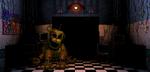 FNaF2 - Office (Golden Freddy)