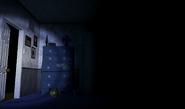 FNaF4 - Dormitorio (Iluminando el Pasillo Izquierdo)