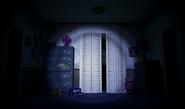 FNaF4 - Dormitorio (Iluminando el Armario)