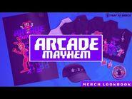 FNAF AR Merch Store- Arcade Mayhem Drop