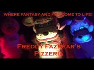 Fright Dome 2016- Five Nights at Freddy's Horror Attraction Full Walkthrough