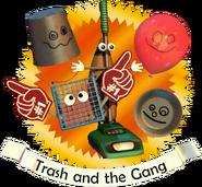 Trash and the Gang (Menu)
