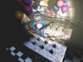 FNaF2 - Party Room 3 (Toy Bonnie - Iluminado)