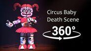 360° Circus Baby death scene - (FNAF Sister Location)