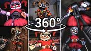 360° Circus Scrap Baby Compilation!! - Five Nights at Freddy's SFM (VR Compatible)