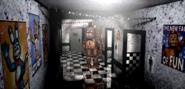 FNaF2 - Main Hall (Freddy - Iluminado)