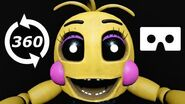 360 VR video Five Nights at Freddy's Help Wanted Part 2 FNAF Virtual Reality Jumpscare Horror