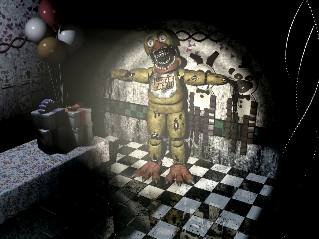 FNaF2 - Party Room 4 (Chica - Iluminado).png