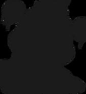 Alpine ui plushsuit freddy frostbear silhouette
