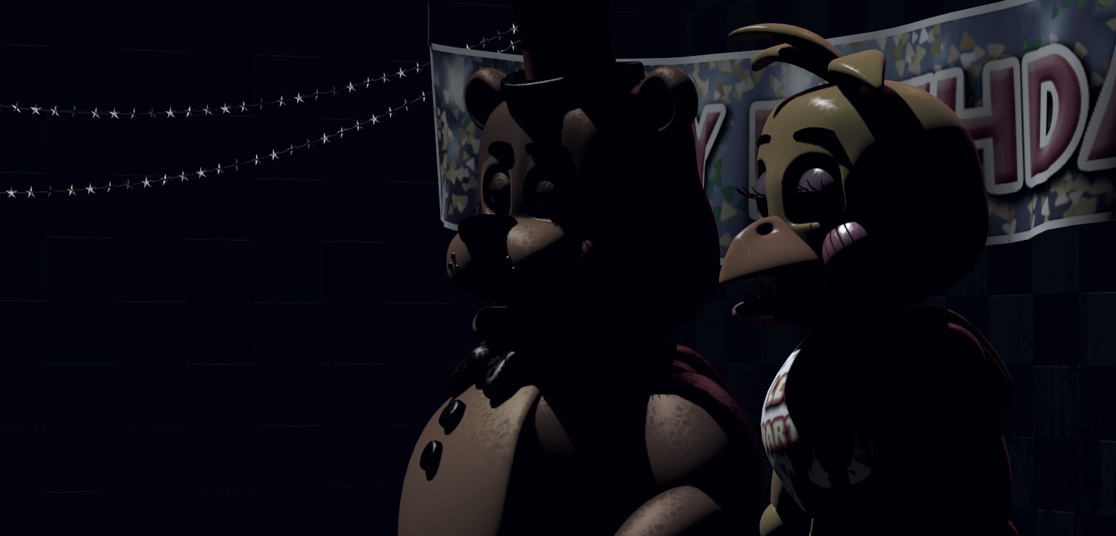 FNaF2 - Show Stage (Falta Toy Bonnie - Sin luces).png