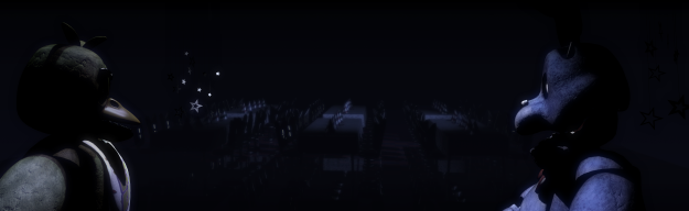 The full view of the first cutscene.