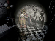 FNaF 2 - Party Room 4 (Toy Chica)