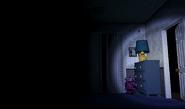 FNaF4 - Dormitorio (Iluminando el Pasillo Derecho)