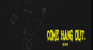 FNaF4 Halloween - Teaser 4 (Come hang out - Iluminado)