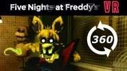 🤡 360 Video Five Nights at Freddy's Help Wanted Virtual Reality FNAF VR 3D Horror PSVR Part 4