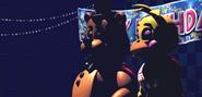 FNaF2 - Show Stage (Falta Toy Bonnie - Sin luces, Iluminado)