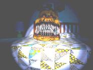 FNaF4 - Cama (Nightmare Fredbear - Iluminado)