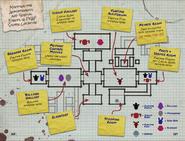Mapa - FNaF SL (The Freddy Files)