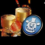 FNaF AR - Minipaquete - Tienda (FazToken - Perfil - Toy Freddy)