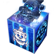 FNaF AR - Minipaquete Black Ice Frostbear (Icono - Tienda)
