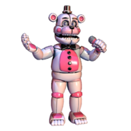 Pink Funtime freddy