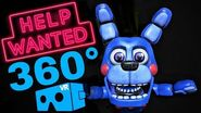 VR 360° 🔴 FNAF FIVE NIGHTS AT FREDDY'S Help Wanted immersive 4K gameplay video