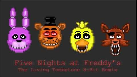 """""""Five Nights at Freddy's"""" - The Living Tombstone 8-Bit Remix"""