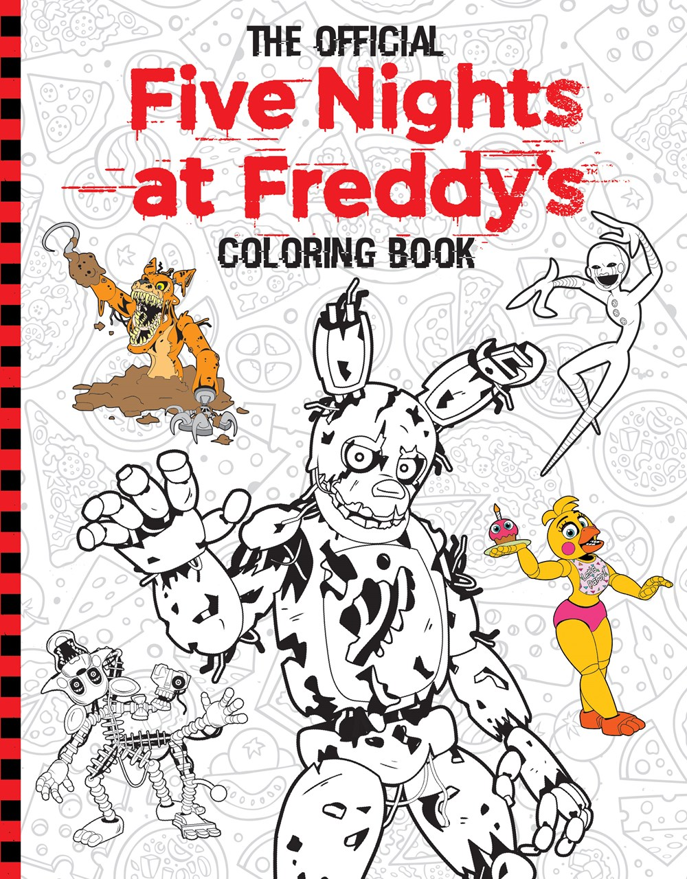 Five Nights At Freddy S Coloring Book Five Nights At Freddy S Wiki Fandom