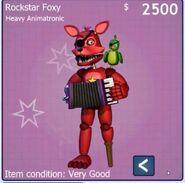 Foxy rock