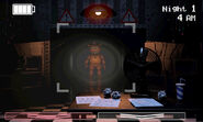 FNaF 2 (Móvil) - Office (Toy Freddy, Hall 1)