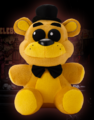 Golden freddy plush front large
