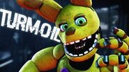 """FNAF SONG """"TURMOIL"""" by DHeusta (Animated Music Video)"""