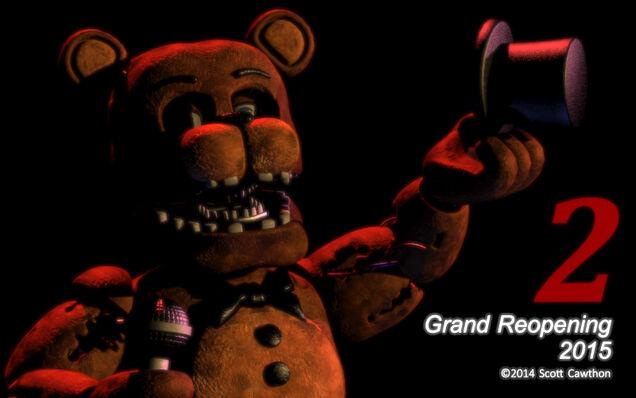 Pierwszy teaser z Freddy'm